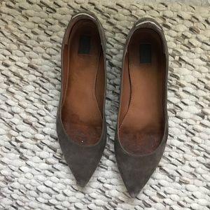 Frye Shoes - Frye Suede Flats